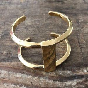 Ann Taylor gold cuff